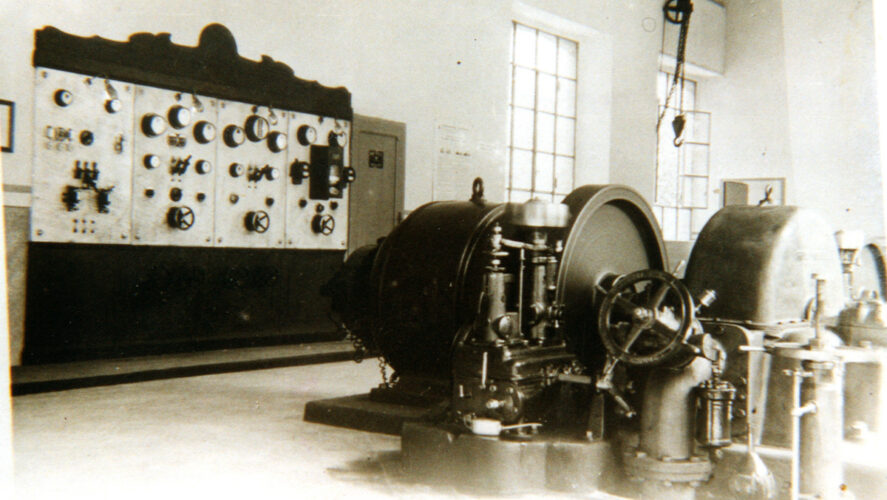 Cossogno_centrale Ramolino alternatore CGE turbina Riva 470
