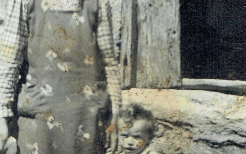 Aurano_Scareno_madre-e-figlio-anni40